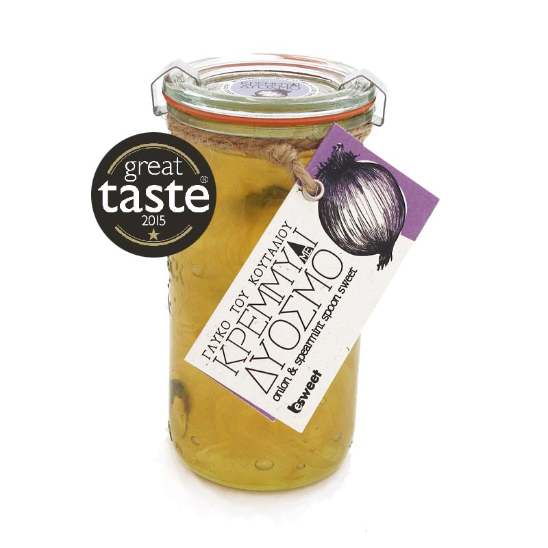 Great Taste Awarded Greek Preserve Onion with Spearmint