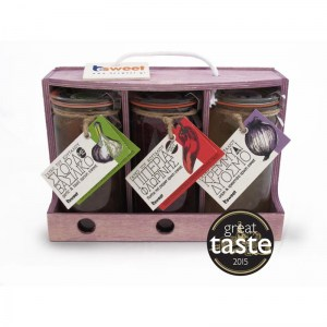 Great Taste Awarded Greek Preserves in wooden gift box